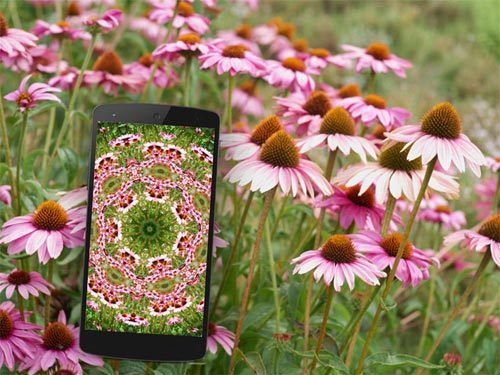 A live kaleidoscope for Android