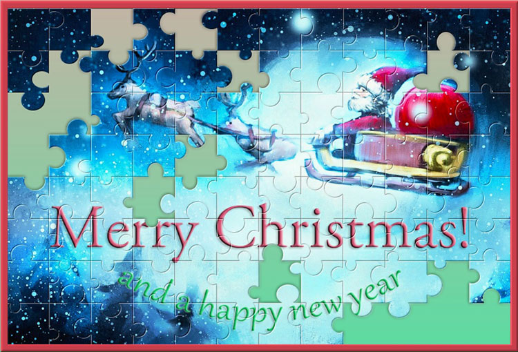 Merry Christmas and a happy puzzle!