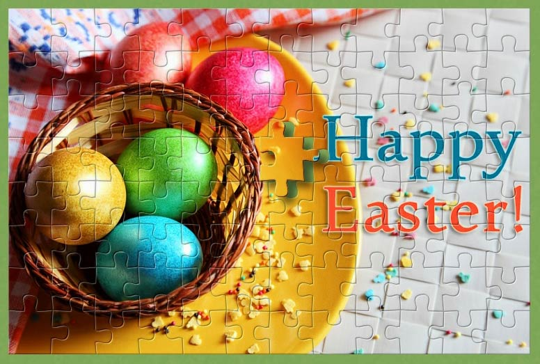 Download freely this Easter puzzle