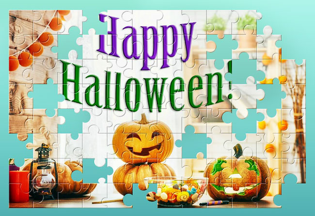 A free jigsaw puzzle to celebrate Halloween
