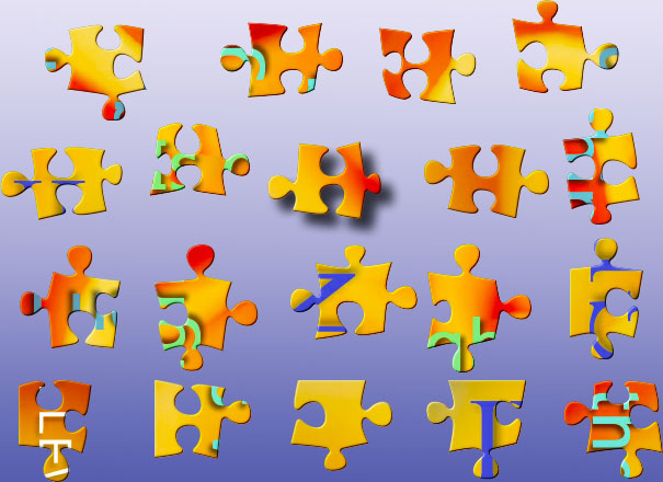 Solve this gift jigsaw puzzle from BrainsBreaker, free for everyone