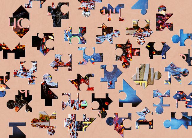 Match the pieces of this mystery puzzle from BrainsBreaker, free for everyone
