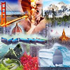 New set of 40 jigsaw puzzles for BrainsBreaker with a collection of beautiful places in the planet Earth.