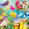 Enjoy a new set of 40 jigsaw puzzles, the Blooming Spring 2. You will find a great variety of Spring motives to enjoy the blooming season at its full potential.