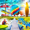 Refreshing images for the hot season and memories of Summer in 40 stunning jigsaw puzzles