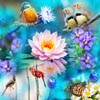 40 vibrant jigsaw puzzles with an assortment of flying entities, birds, butterflies and some flowers to complement.