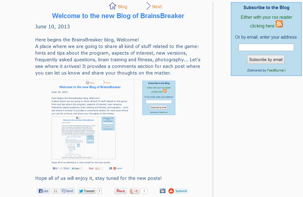 Welcome to the Blog of BrainsBreaker jigsaw puzzles
